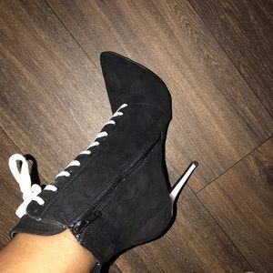 Over the ankle bootie